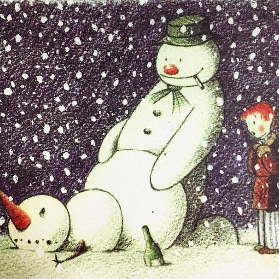 Banksy Santa's Ghetto Xmas Card