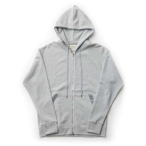 「SILERS」 classic zip-up hoodie Grey