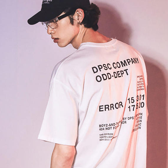 「DPSC」Tokyo Light Logo T-Shirt White