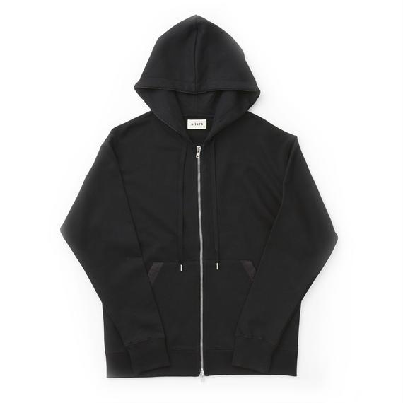 「SILERS」 classic zip-up hoodie  Black