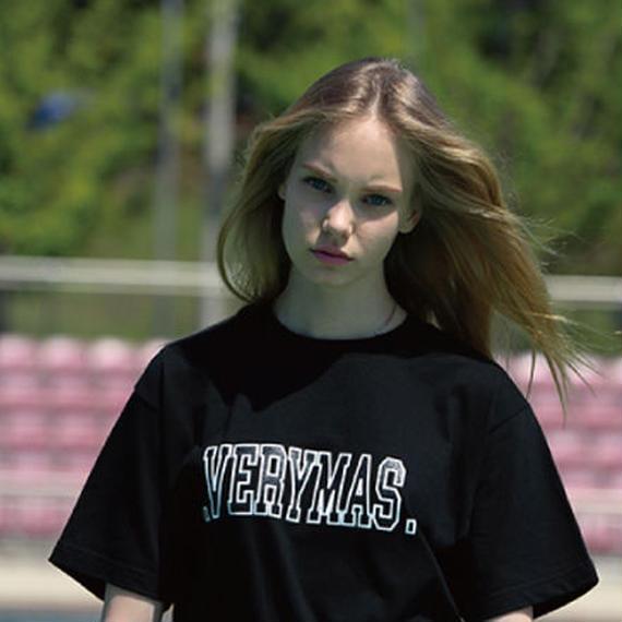 「VERYMAS」BASIC LOGO T-SHIRTS-BK