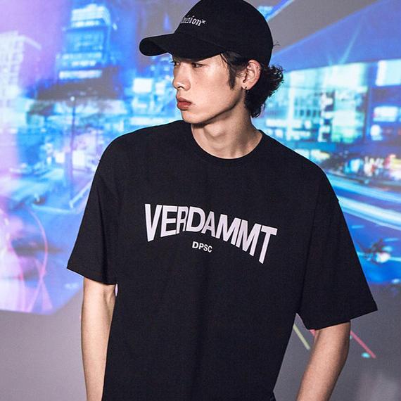 「DPSC」Verdammt T-Shirt Black
