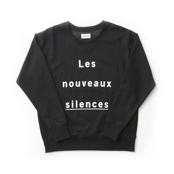 「SILERS」nouveaux crewneck sweatshirt Black