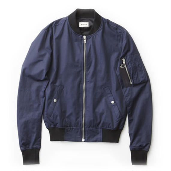 「SILERS」 MA-1 bomber jacket Navy