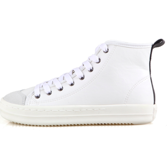 「J DAUL」SUPERB LEATHER HIGH – WHITE