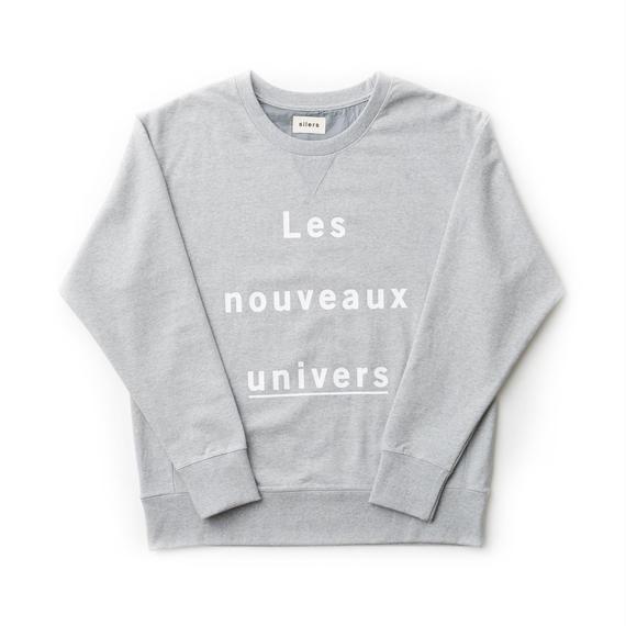 「SILERS」nouveaux crewneck sweatshirt Gray