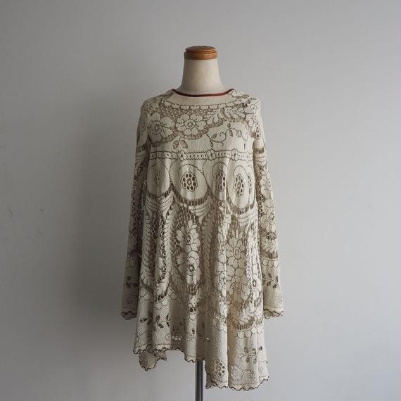 1960s Lace Tunic