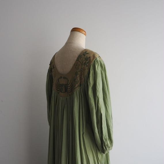 1970s Folk Dress