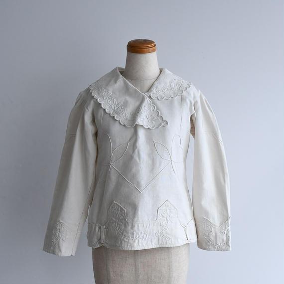 1930s Romanian Linen Blouse