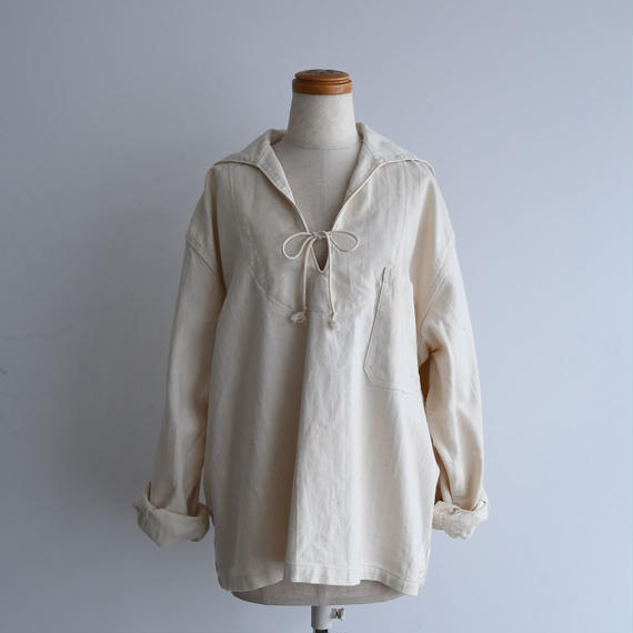 vintage Cream Sailor Shirt