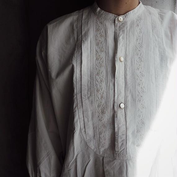 antique 1900s Cotton Dress Shirt