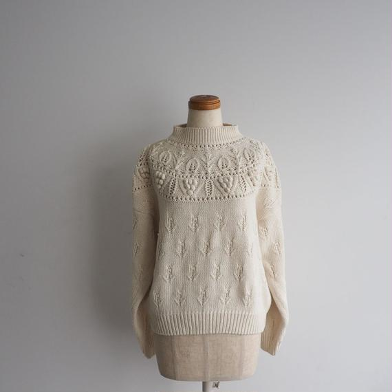 vintage Grape Knit