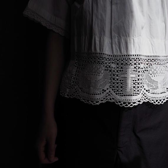 antique 1900s  Crochet Lace Blouse