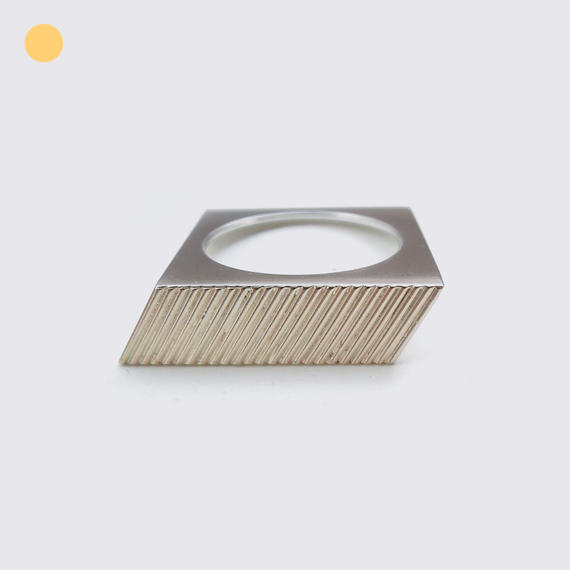 SOLID RING_PARALLELOGRAM※Online only price※売り切りの為3個限定です