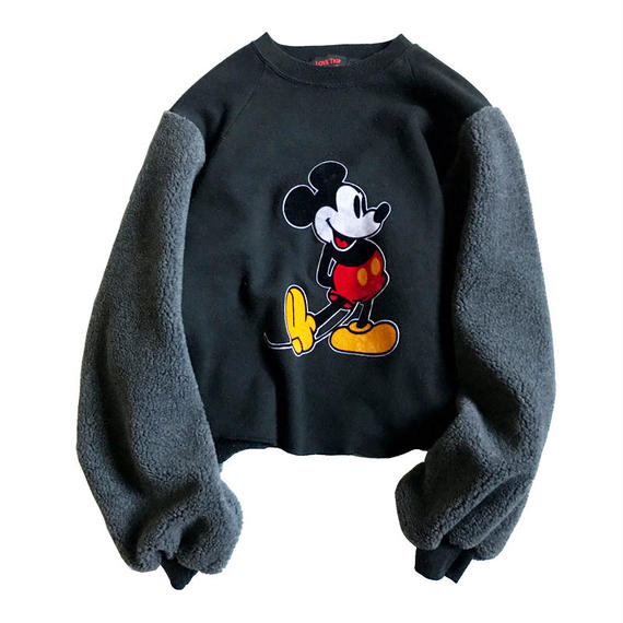 "LOVE TRIP ""MICKEY MOUSE"" スウェット×ボアTOPS"