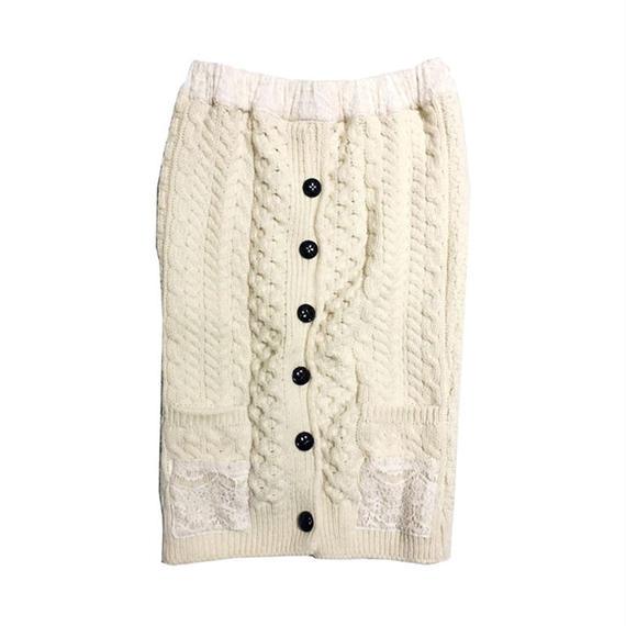 kidole. リメイクニットスカート