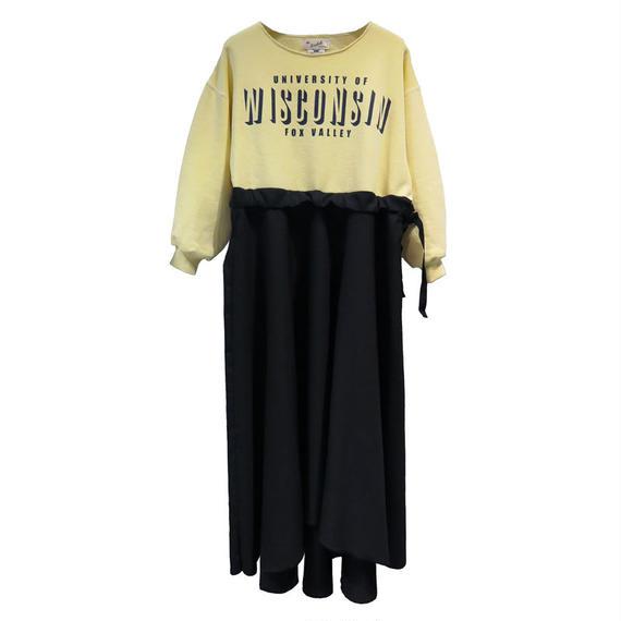 Kidole. SWEAT FLARE DRESS