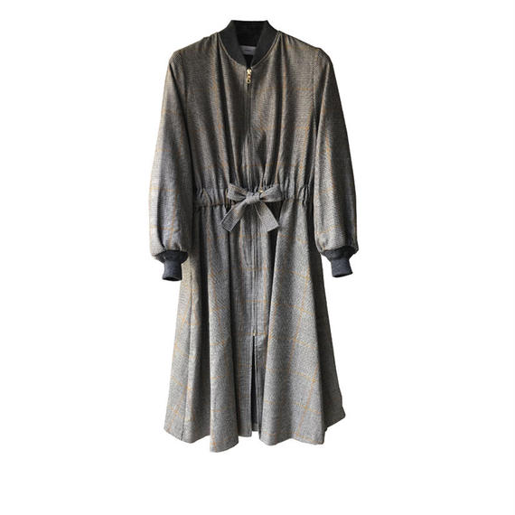 Graphpaper Glencheck Belted Long Coat 