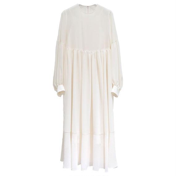 Graphpaper  Chiffon Polka Dots Dress