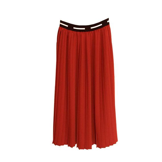 Graphpaper  Satin Easy Pleat Skirt