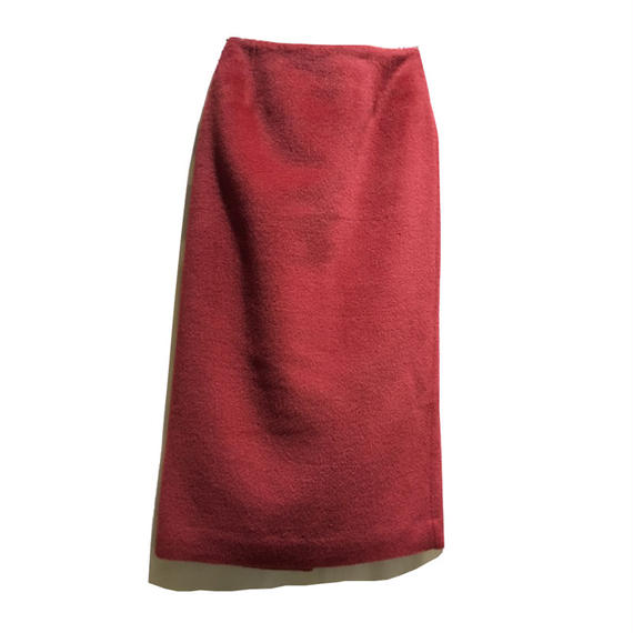 Graphpaper   Alpaca Shaggy Tight Skirt