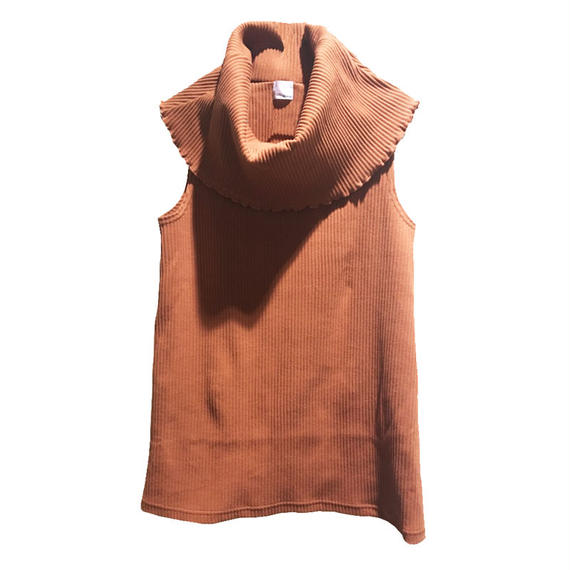 k3&co.  RIB HIGH NECK TOP