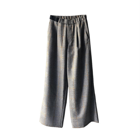 Graphpaper Glencheck Wide Cook Pants