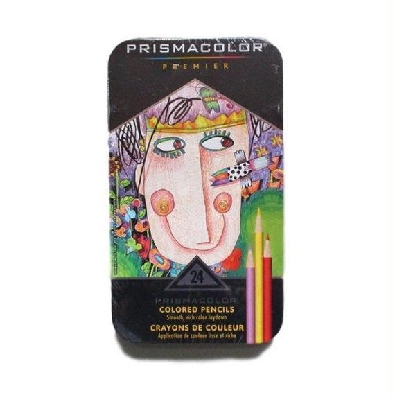 SANFORD 色鉛筆 プリズマカラー 24色セット