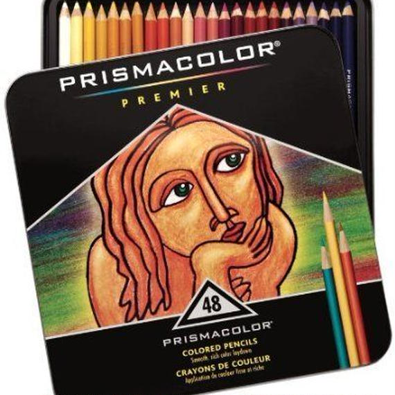 SANFORD 色鉛筆プリズマカラー 48色セット