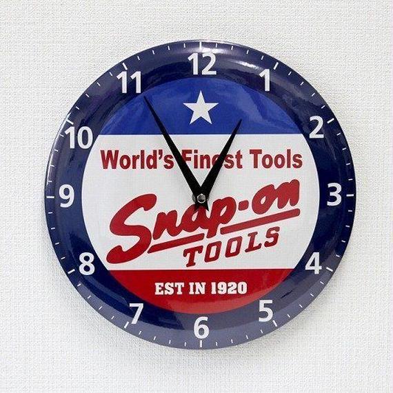 Snap on Clock Classic logo スナップオン クロック