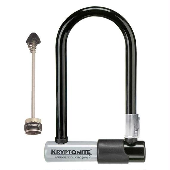 Kryptonite KryptoLok Series 2 Mini-7 Bike Lock with Bracket & WheelBoltz FT並行輸入