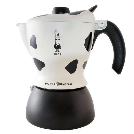 ビアレッティ 直火式 ムッカ エキスプレス 牛柄 2カップ 1908