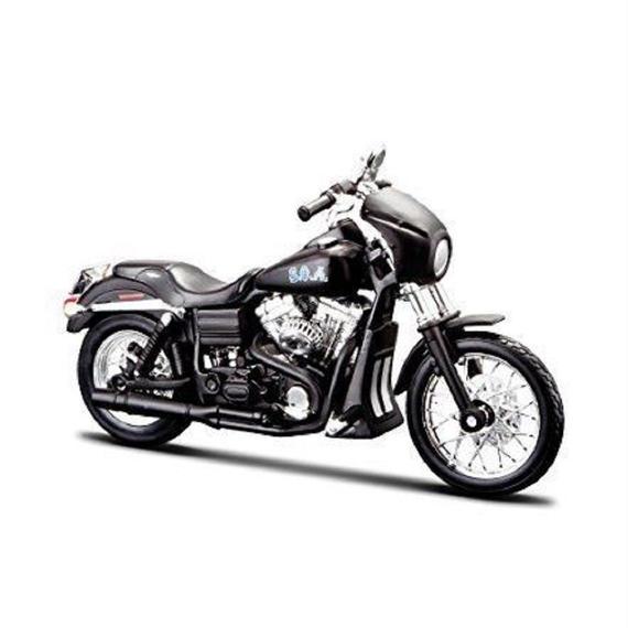 """Maisto 1/12 ハーレー ダビッドソン Harley Davidson 2006 FXDBI DYNA STREET BOB ALEX """"TIG"""" Trager"""