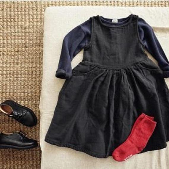 rose dress*chacoal
