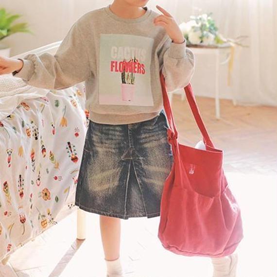 Denim Skirt(AW18003)