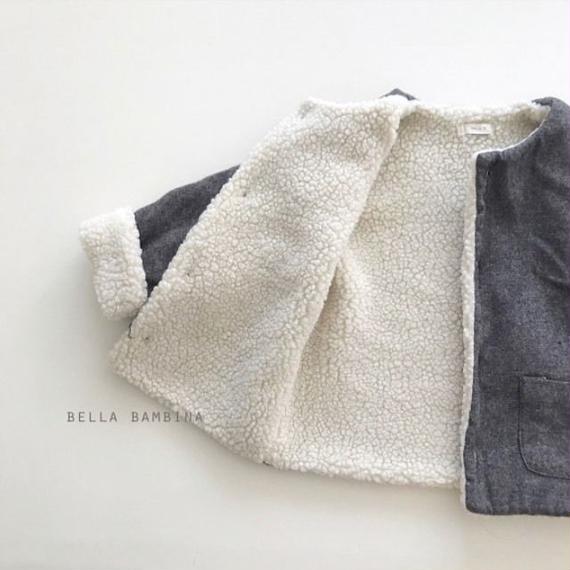Bella Bambina  boa coat