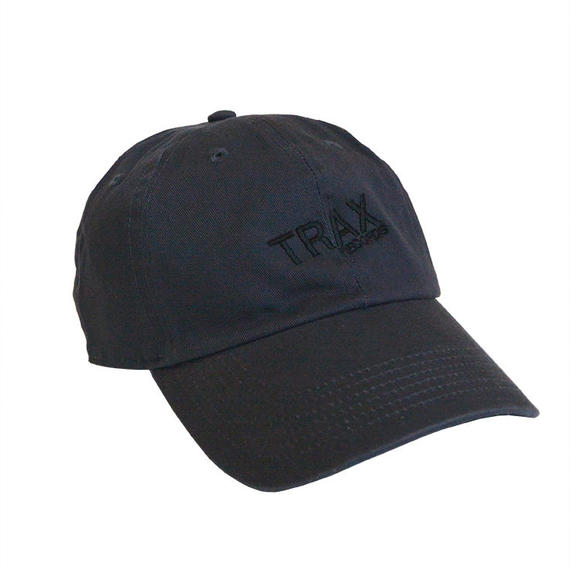 """Trax Records""  /  Washed Twill Low Cap / charcoal gray (luz.tr.c)"