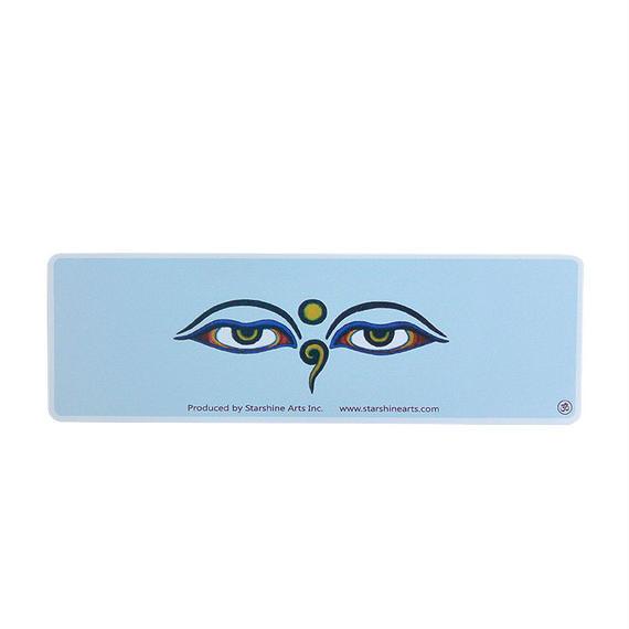 """【 starshine arts 】""""buddha eyes"""" bumper sticker (ss-s6)"""