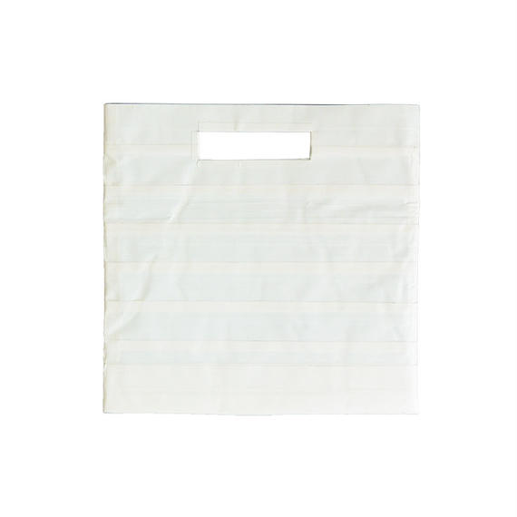 packing tape clutch bag (lpboo1wht)