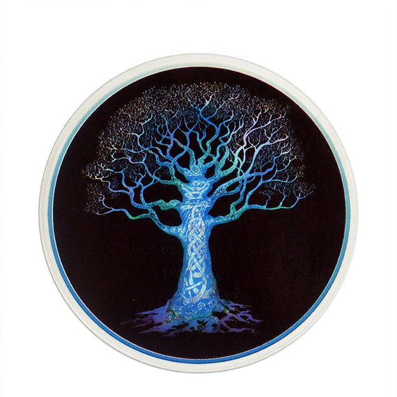 "【 starshine arts 】happylife productions ""knotwork tree"" sticker (ss-7)"