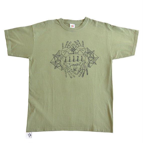 Θhpion Esoteric Tattoo T-shirts (ga004a_olv)