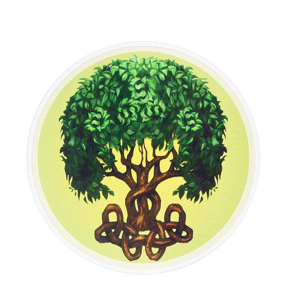 "【 starshine arts 】brigid ashwood ""celtic tree"" sticker (ss-22)"