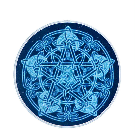 "【 starshine arts 】""celtic moon"" sticker (ss-16)"