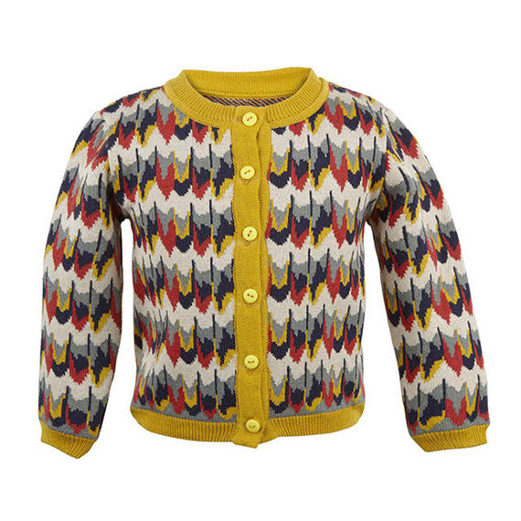 cardigan/marbled feathers/4-7y