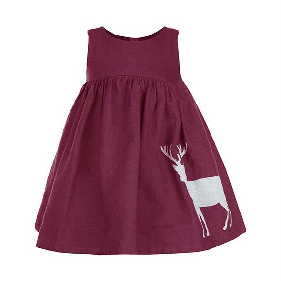 rosie/reindeer/burgundy/4-7y