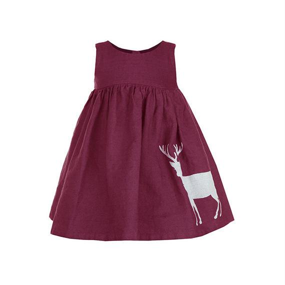 rosie/reindeer/burgundy/2-4y