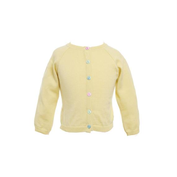 classic cardigan/lemon/1-4y