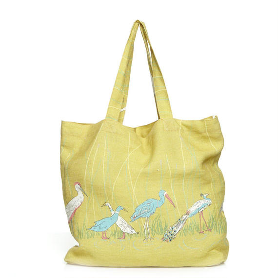 linen shopper/beauty pageant/mustard
