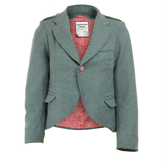 yorkshire tweed jacket/blue