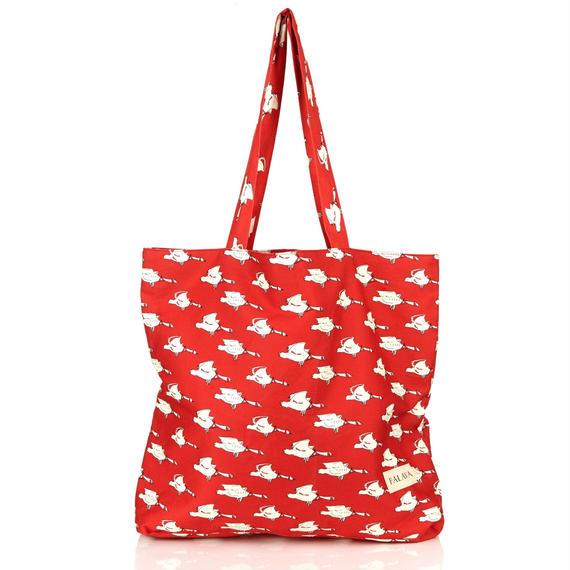 cotton shopper/red duck